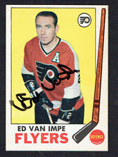 Ed Van Impe #92 signed autograph auto 1969-70 Topps Hockey Trading Card