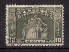 CANADA 1934 USED S #209, LOYALISTS STATUE !!  R