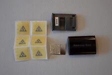 Topeak Rescue Caja Reparación Set en Impermeables Kit de 6 Remiendo Negro