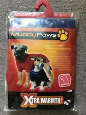 Brand New Medium Ancol Muddy Paws Red Cable Knit Dog Coat
