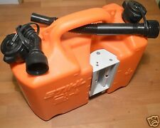 Genuine Stihl Chainsaw Fuel Oil Canister Orange Can Standard Spouts 0123 Tracked