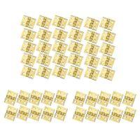 100 Pezzi Mini Cerniere nel Ottone Hardware Rotazione di 180 Gradi per Arma E4L3