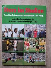 No PANINI Album BERGMANN Stars Im Stadion 1981-1982 81/82 Bundesliga FOOTBALL