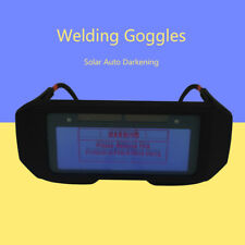 Solar Auto Darkening LCD Welding Glasses Eyes Shield Goggles Welder Protection