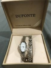 DUFONTE BY LUCIEN PICCARD LADIES WATCH MATCHING BRACELET SET BOX INCLUDED NEW