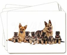 German Shepherd Dogs Picture Placemats in Gift Box, AD-GS10P