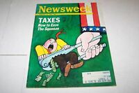 FEB 24 1969 NEWSWEEK magazine TAXES