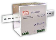 Meanwell Hutschiene - Schaltnetzteil, single output: DRP-240-24 : 24V / 10A