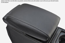 grey stitch FITS VOLVO V70 XC70 00-07 LEATHER ARMREST COVER ONLY