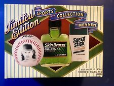 Mennen Nolan Ryan SKIN BRACER AFTER SHAVE, SPEED STICK & BASEBALL