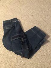 BUGLE BOY Mens 38 X 30 Cargo Pants Convertible Shorts Zip Off Denim Jeans 3526