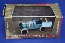 Vintage Brumm R39 1:43 1921 Bugatti Brescia HP 10 MIB Italy Serie Oro Blue