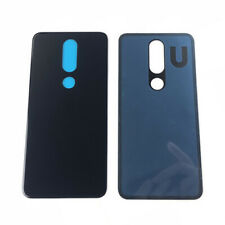 Back Glass Battery Cover For Nokia X6 6.1 Plus Ta-1083/1099/1116/1103 Dark Blue