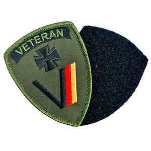 2 x Aufnäher Veteran Patch Deutschland Bundeswehr Treu gedient Auszeichnung BUND