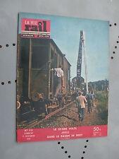 vie du rail 1955 521 BRIEY MONDELANGE TUCQUEGNIEUX AUDERNY ARGENTIèRE BESSéE