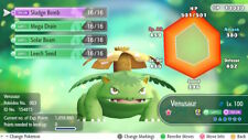 Pokemon Let's Go Shiny Venusaur Max 6IV / AV [Fast Delivery] Original Owner