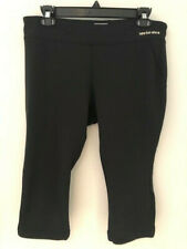NEW BALANCE Women's Black Lightning Dry Capri Leggings (LARGE) (Excellent Cond)