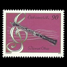 "Austria 2012 - Musical Instruments ""Oboe"" Music - Sc 2368 MNH"