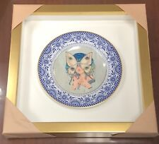 CAMILLA D'ERRICO SDCC 2017 Masquerade One of A Kind Signed Vintage Plate RARE!!!