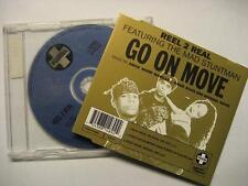 "REEL 2 REAL FEAT. THE MAD STUNTMAN ""GO ON MOVE"" - MAXI CD"