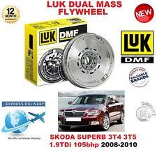 FOR SKODA SUPERB 3T4 3T5 1.9 TDi 105 BHP 2008-2010 LUK DMF DUAL MASS FLYWHEEL