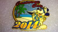 Disney Pin 99523 DCL - 2014 Castaway Cay with Captain Mickey