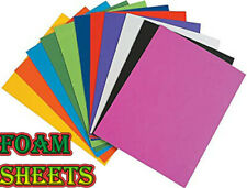 Pack of 50 Eva Plain Foam Sheets A4 - Choice of colours Childrens crafts