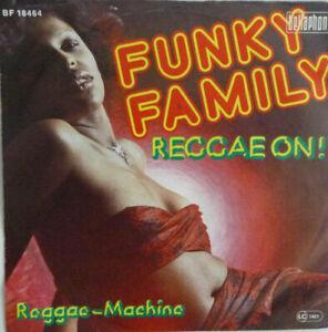 """7"""" 1976 KULT IN MINT- ! FUNKY FAMILY : Reggae On !"""