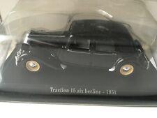 Citroën Traction 15 six, échelle 1/43, réf: 6112/241 dans sa boîte d'origine