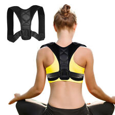 Adjustable Therapy Posture Corrector Support Body Back Pain Belt Brace Shoulder