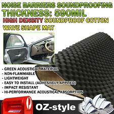 1.5SQM Car Muffling Foam Sound Absorbing Noise Control Deadener 590mil Thick Mat