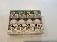 (12) XL 90+ 1976 ARNOLD PALMER golf balls in Sleeves 1/2 Box Included - Cool