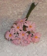 DAISY Parchment DOLL SIZED flower bunch clothes & hats PINK  Alexander & Ginny