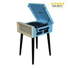 Steepletone SRP1R16 Retro Vintage Style Record Player Turntable with USB & Radio
