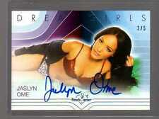 2017 Jaslyn Ome Bench Warmers Dream Girls Autographed Card  2/5   Playboy Playma