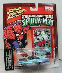 1955 LINCOLN FUTURA - MARVEL- PETER PARKER  SPIDER-MAN - 1/64 - Johnny Lightning