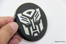 R252 Transformers 2 stück 3D Emblem Auto Aufkleber für Deckel Nabendeckel 64 mm
