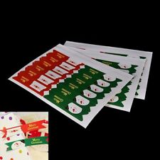 Sticker Gift 120 Pcs/set Party Baking Packaging Labels Christmas Seal Tags