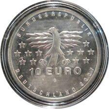 330 - 10 EUROS ALLEMAGNE 2007 G - La Sarre - argent