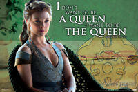 Game of Thrones Margaery Tyrell The Queen Poster 12x18 inch