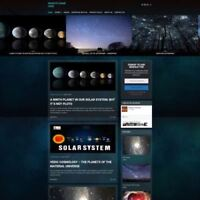 ASTRONOMY STORE - Business Website For Sale - Work From Home + Hosting + Domain