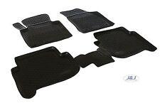 4 pezzi neri in gomma tappetino per VW Touran I anno 2003-2015