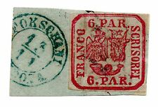 Rumänien, Fürstentum, Principality of Romania, Mi 9I gest. 1862