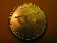 1967 Canada Silver Dollar High Grade Coin Commemorative 100 Yrs of Canada ID#B9.