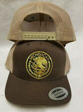 Michoacan Mexico Hat. Mesh Trucker Brown Kacky Adjustable New