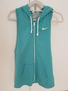 Men's NIKE - The Athletic Dept. Zip Up HOODIE VEST / Size: S  Near New Condition