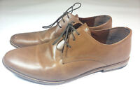Red Tape Men's Shoes Tan Brown Leather Casual Oxford Sz 11.5 Lace Up