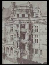 ALPHONSE FORTIER 1856 PHOTOGRAPH - BLOIS CASTLE FRANCE