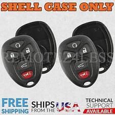 2 for Buick Cadillac Chevy GMC Keyless Remote Car Key Fob Shell Case 5b SUV