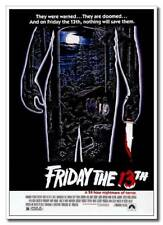 "Friday The 13th Jason 12""x8"" Classic Horror Movie Silk Poster Hot Sale"
